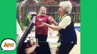 Getting Grandma GOOD! 😂 | Funny Pranks & Fails | AFV 2021