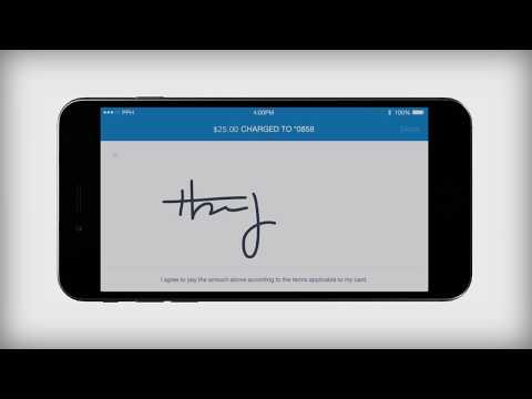 How to Accept Swipe Payments - Using the PayPal Chip Card Reader
