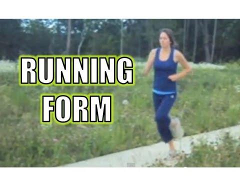 Good Running Form for Distance Running