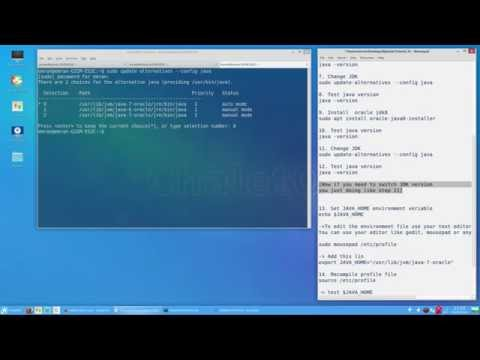 Tutorial 01 - How to install Oracle JDK 6, JDK 7, JDK 8 on Linux base OS