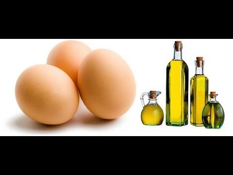 DIY: Damage Hair Strengthen Mask   Olive oil and Eggs
