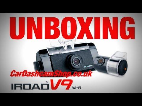 IROAD V9 Wi-Fi UNBOXING www.CarDashcamShop.co.uk