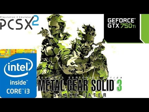 PSX2 EMULATOR RUNNING METAL GEAR SOLID 3...OR IS IT NOT???