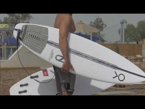 Kelly Slater surfs and shares thoughts on the Helium Gamma and LFT Gamma by Slater Designs