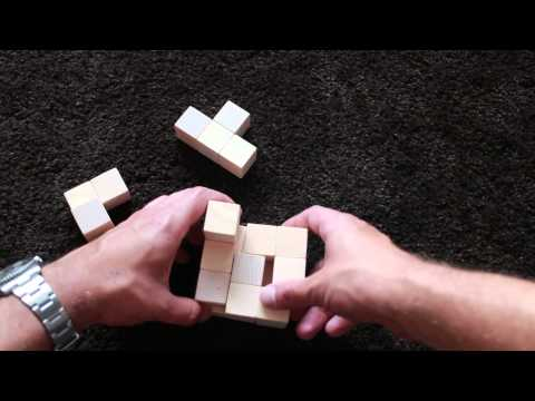 DIY wooden soma cube
