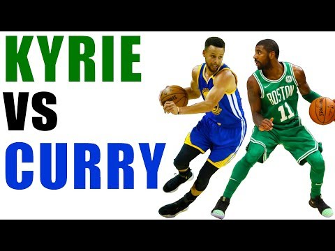 Kyrie Irving vs Stephen Curry Handles! How To Dribble A Basketball Like A PRO