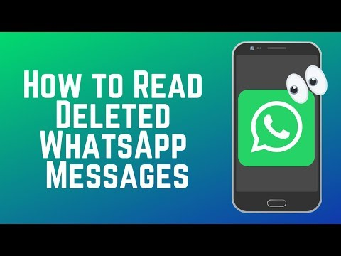 How to Read Deleted WhatsApp Messages – Save Message Notifications
