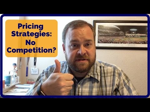 Amazon FBA Pricing Strategies - No Competition?