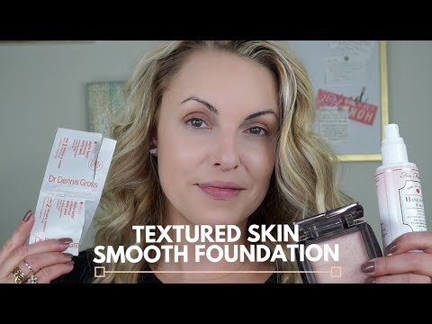 How To: Get Smooth Foundation Application || Textured Skin - Elle Leary Artistry