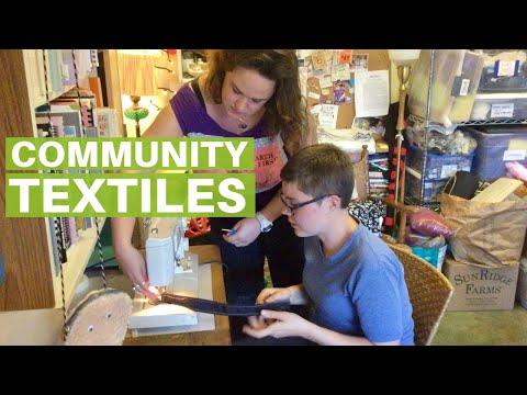 The Fabrica: Community Textile Arts & Salvage Workshop
