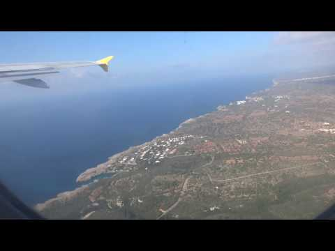 Take-off from Menorca Airport, Menorca, Balearic Islands, Spain - 17h October, 2017