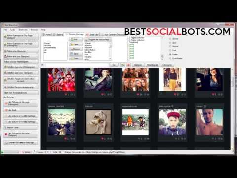 Auto Like pictures in your favorite hashtags   Best Insta Bot November 2013