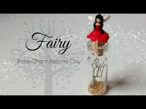 ♡ Fairy Bottle Charm (Polymer Clay) Tutorial ♡