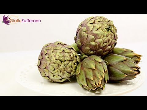 How to clean artichokes - cooking tutorial