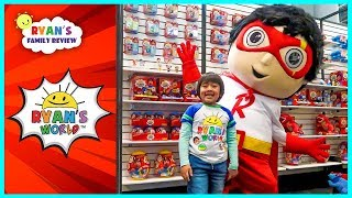 Download Ryan meet Giant Red Titan and See Ryan's World new toys!!! Video