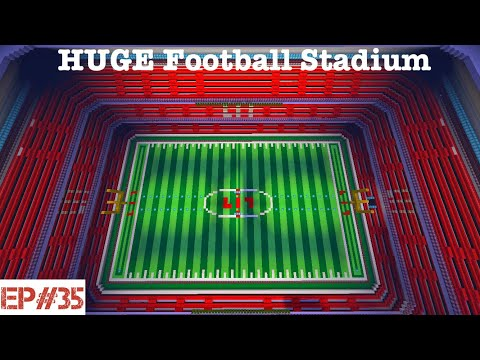 Building A City   #35   HUGE Football Stadium 🏈