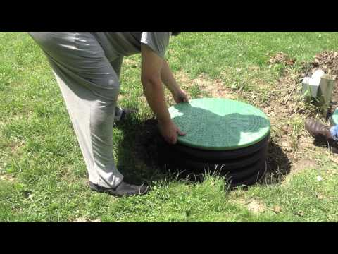 How to install a septic tank riser and new lid yourself - easily!