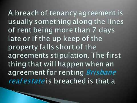 When a Tenancy Agreement is Breached