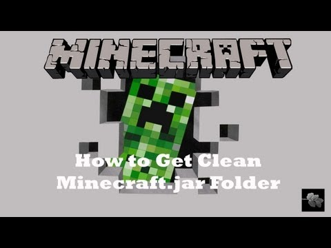 How to get a clean minecraft jar folder!! Install new mods! (Mac)