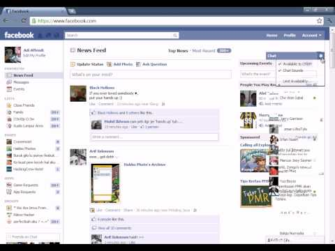 How to offline at Facebook Chat? - HD