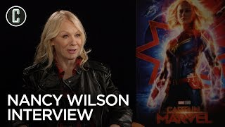 Heart's Nancy Wilson on Captain Marvel and Touring with Queen