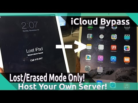 [WORKING!!!] HOST Your OWN iCloud BYPASS SERVER for ANY LOST AND ERASED iDevice!