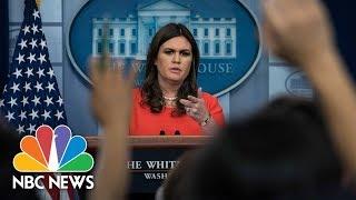 White House Press Briefing - November 17, 2017 (Full) | NBC News