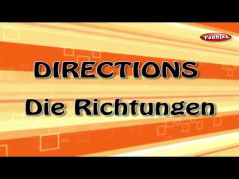 Learn Directions in German | Learn German Through English | Learn German For Beginners