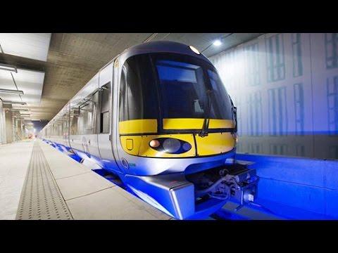 Fastest Train Heathrow Terminal 1 2 3 4 5 to Central London Paddington Station