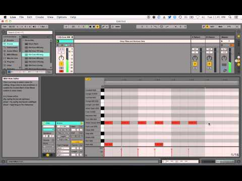 Tutorial: Creating a Simple Drum Beat in Ableton Live 9