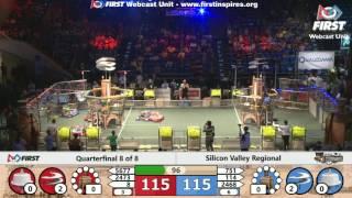 Quarterfinal 8 - 2017 Silicon Valley Regional