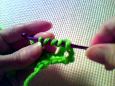 How to Crochet - Front Post Double Treble Crochet