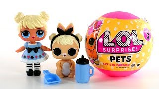 See all of the LOL Surprise Pets and matching LOL Surprise Big & Lil