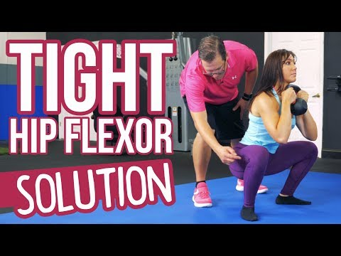 How to Fix TIGHT Hip Flexors for Improved Squats