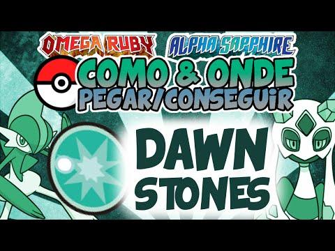 GUIA DE DAWN STONES em Pokémon ORAS! - C&OPC