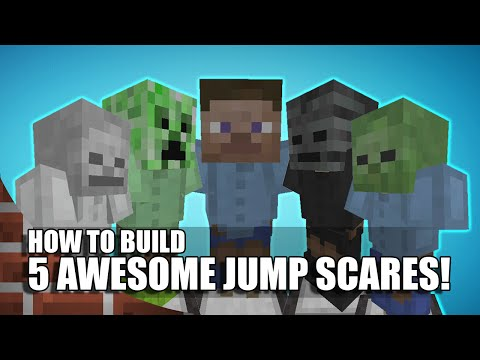 5 Awesome Ways To Build Jump Scares In Minecraft!