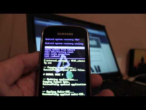 Resetear / Reestablecer / Hard reset / Recovery mode Samsung Galaxy Mini 2 S6500 - Phone&Cash