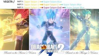 DBXV2 : Black Goku SSJ2 VS Vegeta SSJ2 ☆ MODDED VERSUS