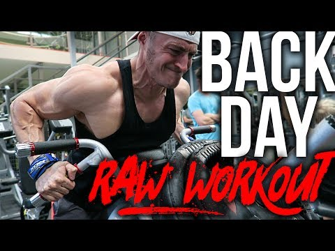 Wide Back Workout (NEW EQUIPMENT)