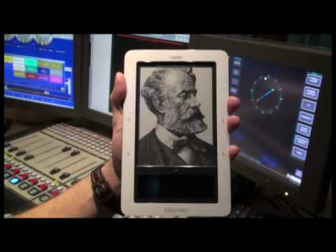 The Barnes and Noble 'Nook' - An e-book reader, audio player and internet browsing device