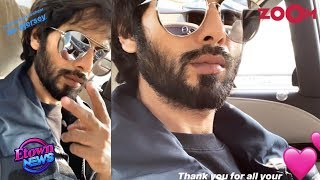 Shahid Kapoor RESUMES the shooting of Jersey with injured lip | Bollywood News