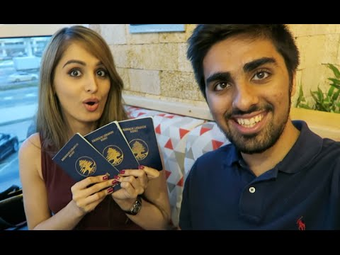 WE GOT NEW PASSPORTS !!!