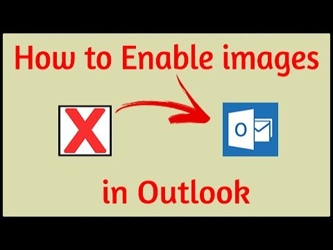 [Solved] How to Enable/Display images in Outlook | 2017
