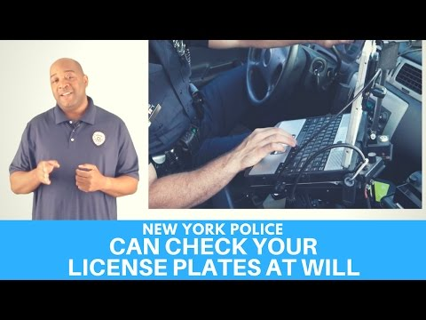 NY Police Can Check Your Plates For No Reason | Police