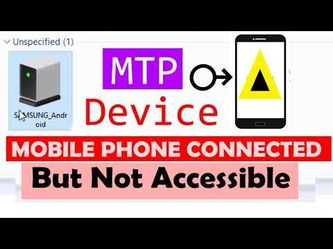 [Solved] Phone to PC connection trouble, Windows 10 MTP portable device.