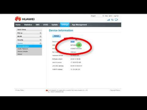 Free Unlock Huawei E8231 3G WiFi Wingle All Model Unlock