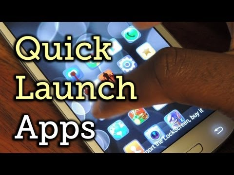 Quick Launch Apps More Securely from Lock Screen - Samsung Galaxy S3 [How-To]