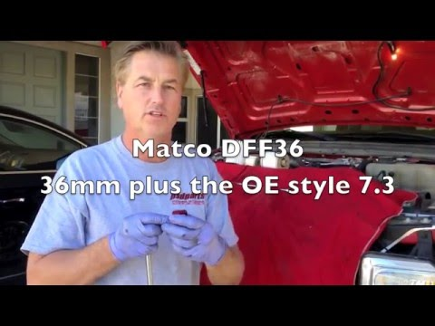 Ford  6.4 6.0 Powerstroke fuel filter tips and tricks