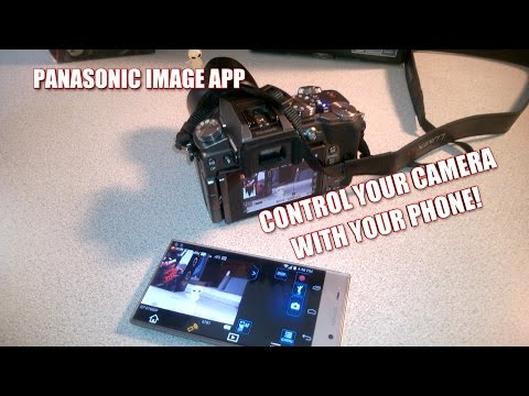 Control Panasonic G7 w/Smartphone App - Remote Shooting and More!