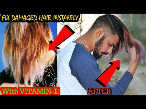 FIX DAMAGED HAIR INSTANTLY ★Hair Mask★ 2017- 1000% WORKING
